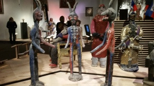 Voodoo Exhibit statues