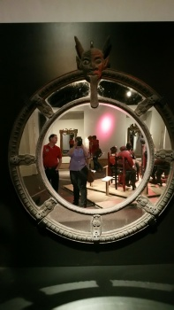 A Lucifer Mirror. Part of the Voodou Exhibit at the Field Museum, Chicago