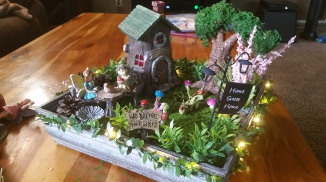 indoor fairy house side view